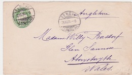 Suisse ENVELOPPE  EP 1895 - Stamped Stationery