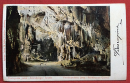 SLOVENIA POSTOJNA POSTUMIA ADELSBERG 4/10/1905 GROTTE FERDONANDS - Slovenia