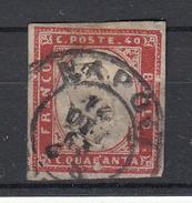 ITALIË - Michel - 1855/63 - SARDINIË - Nr 13b - Gest/Obl/Us - Sardaigne