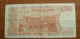 1966 - Belgique - Belgium - CINQUANTE FRANCS - 16.05.66 - 1468 J 7725 - [ 6] Treasury