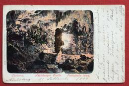 POSTOJNA POSTUMIA ADELSBERG TARTARUS GROTTE PER VENEZIA CON ANNULLO AMBULANTE WIEN - TRIEST N.9 IL 10/9/99 - Slovenia