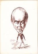 GUS  -  Politique Giscard D'Estaing - CPM  10,5x15  BE 1983 Neuve Carte En Relief - Künstlerkarten
