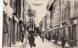 SAINT-MARCELLIN GRANDE RUE - Saint-Marcellin