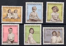 LUXEMBOURG  N** 614 A 619  MNH - Luxembourg