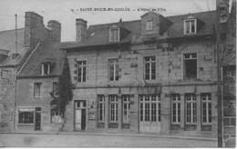 CPA 35 -ST BRICE EN COGLES - L'Hôtel De Ville - France