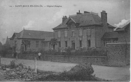 CPA 35 -ST BRICE EN COGLES - Hôpital Hospice - France