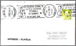 REAL SOCIEDAD ESPAÑOLA DE QUIMICA - Chemistry. Santiago De Compostela, La Coruña, Galicia, 1986