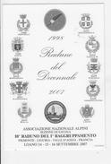 10° Raduno Del 1° Raggruppamento   Loano 2007  Alpini - Militari