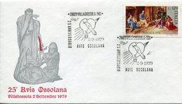 17991 Italia, Special Postmark And Cover, Villadossola Novara, 25 Anniversary Of Avis,  Blood Donors,donneur De Sang - Sonstige