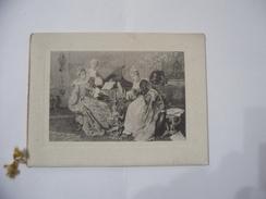 CALENDARIO CALENDARIETTO DA BARBIERE NOBILTà FRANCESE 1919. - Calendari