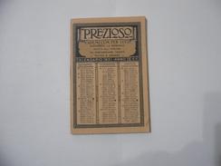 CALENDARIO PREZIOSO CAMPARI VADEMECUM PER TUTTI 1931. - Calendari