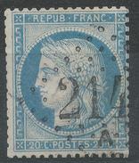 Lot N°34332  N°37, Oblit GC 2145 A LYON-LES-TERREAUX (68) - 1870 Siege Of Paris