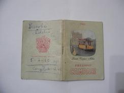 CALENDARIO PREZIOSO VADEMECUM CAMPARI PER TUTTI 1961. - Calendari