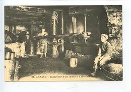 Intérieur D'un Moulin à Huile - GRASSE (n°81) C'était La France N)299 Rééd) Vierge - Artesanal