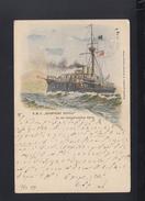 KuK PK 1899 SMS Kronprinz Rudolf - Krieg
