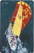 Isle Of Man - BT Global Yaght Challenge - 2000, 10.000ex, Used