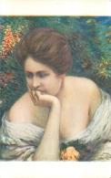 SALON DE PARIS  L.  RIDEL  QUE FAIT IL  LUXOCHROMIE - Peintures & Tableaux