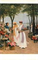 SALON DE PARIS  V.  GILBERT DERNIERES ROSES  LUXOCHROMIE - Peintures & Tableaux