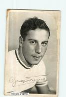 Jacques VERNA , Autographe Manuscrit , Championnat France 1942 -  En L' état - Lire Descriptif  - CYCLISME - 2 Scans - Cycling