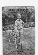 José SCHERENS - Bicyclette Oscar EGG  -  En L' état - Lire Descriptif  - CYCLISME - 2 Scans - Cycling