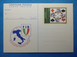 1983 ITALIA CARTOLINA POSTALE NUOVA NEW MNH** - TORNEO INTERNAZIONALE DI BRIDGE - - Entiers Postaux