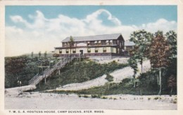 Military Liberty Y W G A Hostess House Devens Ayer Massachusetts - Other