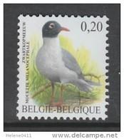 TIMBRE NEUF DE BELGIQUE - OISEAU DE BUZIN : MOUETTE MELANOCEPHALE N° Y&T 3364