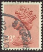 GB Yv. N°1079 - 23p Rose-saumon - Oblitéré - Machin-Ausgaben