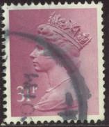 GB Yv. N°1081 - 31p Lilas-rose - Oblitéré - Machin-Ausgaben