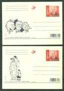 2006 - 2 CP/PK Gil Jourdan/Guus Slim, Piet Fluwijn & Bolleke (1956-2006) - Cartes Postales [1951-..]