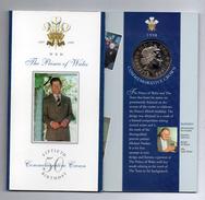 Gran Bretagna - 1998 - £ 5 Commemorative 50° Compleanno Principe Di Galles - FDC - In Custodia (Vedi Foto) - Gran Bretagna