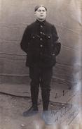 CP Photo Avril 1915 ERFURT - Gefangenenlager, Au Camp De Prisonniers, Soldat Français (A166, Ww1) - Guerre 1914-18