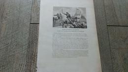 Estampe Ancienne Notice De Alexandrin Barreau Grenadier Au 2ème Bataillon Du Tarn Militaire Napoléon Tarn - Documents Historiques