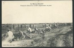 Le Maroc Illustré -  Prisonniers Allemands Au Travai - Empierrement Des Pistes   - Obf0819 - Marokko