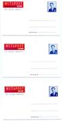 1996 - 3 X CA/AV 30 Mutapost - 3 Talen/3 Langues (2 Scans) - Addr. Chang.