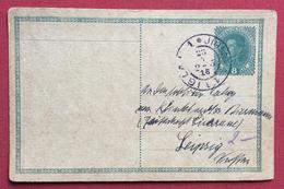 REPUBBLICA CECA  CARTOLINA POSTALE  AUSTRIA 8 H. DA  JIHLAVA   A LEIPZIG - LIPSIA  23/5/1918 - Repubblica Ceca