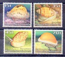PAPOUASIE NOUVELLE GUINEE   Timbres Neufs ** De 1986  ( Ref 4583 )  Animal -  Mer - Coquillage - Papouasie-Nouvelle-Guinée