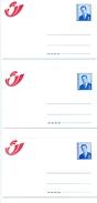 1998 - 3 X CA/AV 32  Post - 3 Talen/3 Langues (2 Scans) - Addr. Chang.