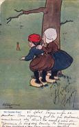 "CPA Enfants Style Bécassine Lapin Rabbit ""Ne Crains Rien !"" Illustrateur SHEPHEARD - Shepheard"