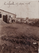 Photo Mai 1915 ERFURT - Gefangenenlager, Au Camp De Prisonniers, Français (A166, Ww1, Wk 1) - Erfurt