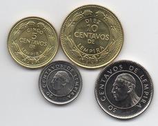 Honduras : Lot De 4 Pièces UNC 1999-2006 - Honduras