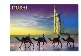 Cpm - DUBAI - United Arab Emirates - N°222 - Awni - BURJ AL ARAB - HOTEL - Animation Chameaux - - Dubai