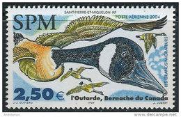 St. Pierre Et Miquelon 2004. Michel #906 MNH/Luxe. Goose Of Canada. (Ts17)