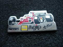 PIN´S FERRARI F1 A.PROST AGIP - Ferrari