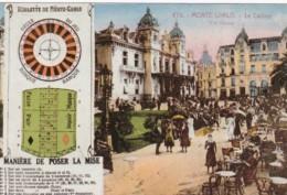 Monte Carlo Monaco Le Casino Roulette De Monte Carlo - Casino