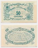 1914-1918 // C.D.C. // LE MANS // 50 Centimes // SPECIMEN - Chambre De Commerce