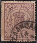 NEDERLAND STAMP 2 1/2 CENT HOLANDA USED CANCELLED - Periode 1852-1890 (Willem III)