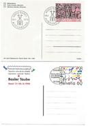 SUISSE LOT D'ENTIERS OBLITERES FDC - Lots & Kiloware (mixtures) - Max. 999 Stamps