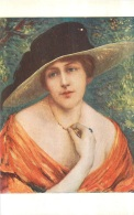 SALON DE PARIS L.  RIDEL  A L'OMBRE   LUXOCHROMIE - Peintures & Tableaux