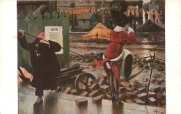 SALON DE PARIS  A.  GUILLAUME  PAYSAGE PARISIEN  LUXOCHROMIE - Peintures & Tableaux